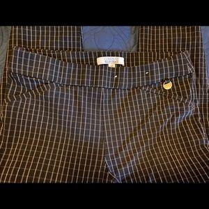 Ellen Tracy Flat Front Pants